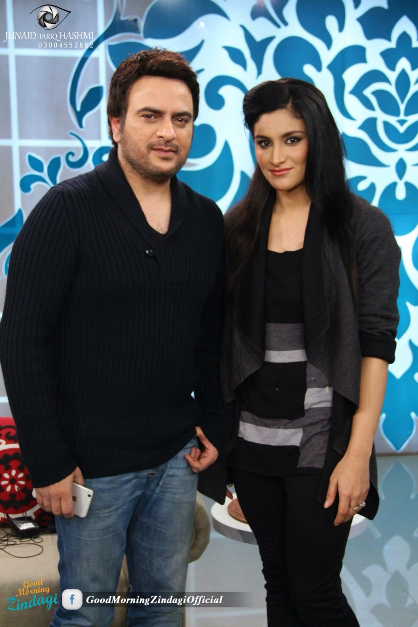 Kiran Khan in Good Morning Zindagi, Morning Show