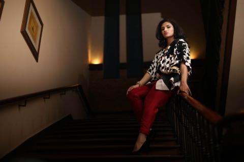 Kiran Khan's Exclusive Interview and Photo-spread with HELLO! Pakistan